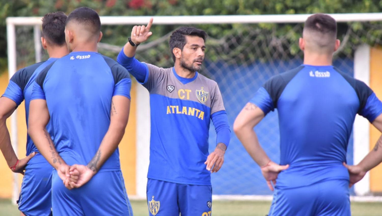 Ochoa Gimenez seguira al margen en el equipo de Atlanta ante San Martin