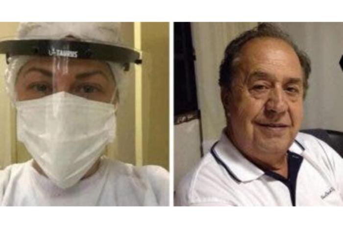 """""""Falle como hija"""", el dolor de una medica tras la muerte de su padre por coronavirus"""
