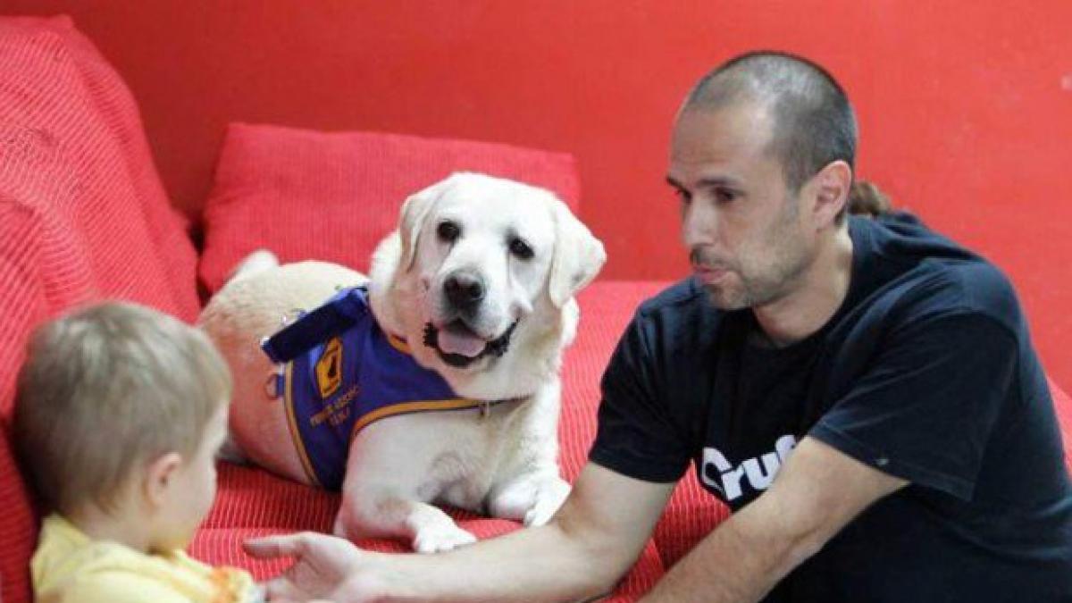 Todas las claves sobre como los perros de asistencia y terapia pueden ayudar a los niños y adultos con autismo