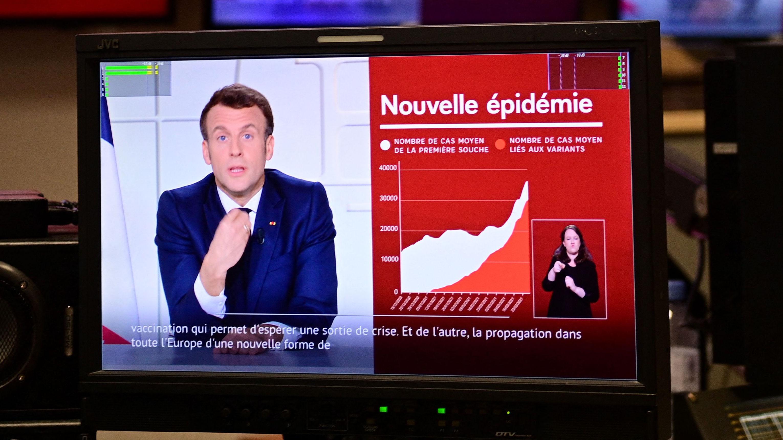 Francia anuncia nuevo confinamiento para frenar los repuntes de COVID-19