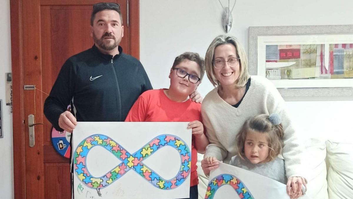 Mayra, Ramon, Esther, Irene y Alberto ponen rostro al autismo, el trastorno mas poliedrico
