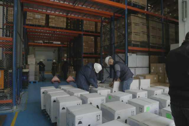 Colombia recibio nuevo lote de 280.800 dosis de Pfizer