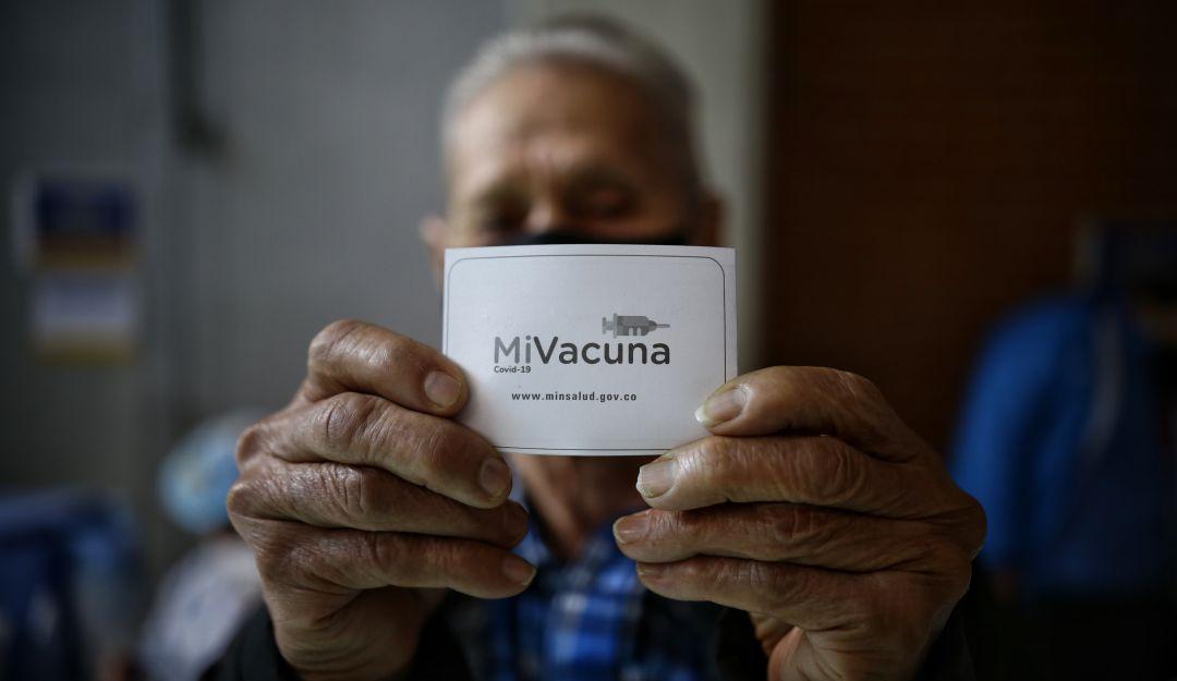 Colombia supero dos millones de personas con segunda dosis de vacuna COVID