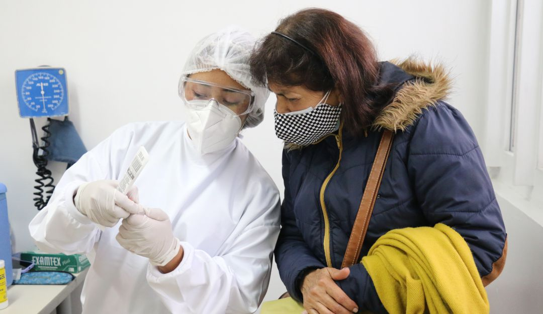 Quienes tienen entre 40 y 49 años se vacunaran en la cuarta etapa del PNV