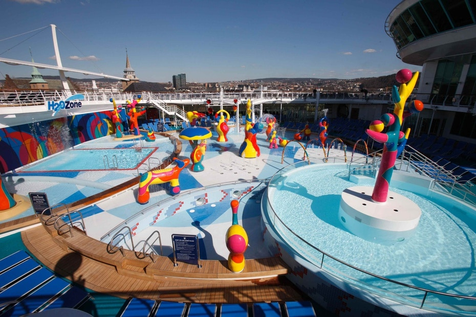 Independence of the Seas | De Royal Caribbean. Lanzado en el 2008 con una capacidad para 4,375. Mide 1,112 pies de longitud. (GFR Media)