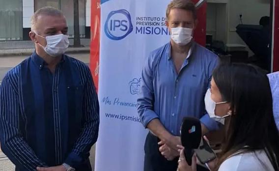 Lanzaron en Posadas la campaña de donacion de sangre organizada por el IPS