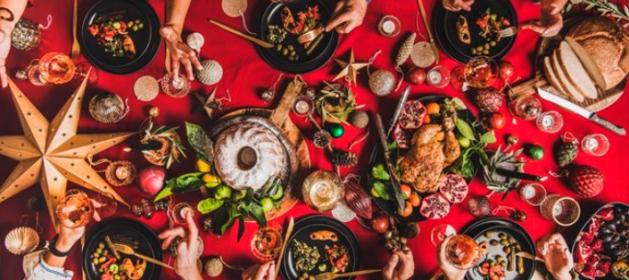 Cinco trucos para que no nos repitan las comidas navideñas