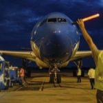 Ya viaja a Buenos Aires el noveno vuelo de Aerolineas Argentinas con vacunas Sputnik V: trae 370 mil dosis