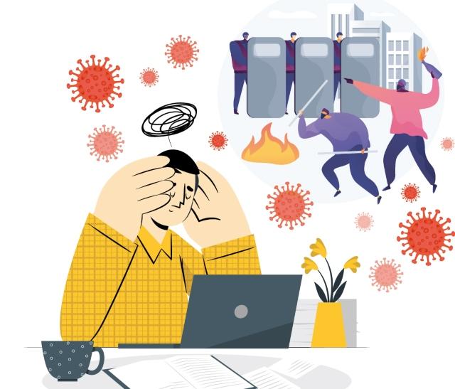 Fuerza contra el agotamiento emocional: consejos ante la pandemia, el paro y las noticias falsas