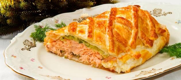 La receta de salmon Wellington para triunfar en Nochevieja