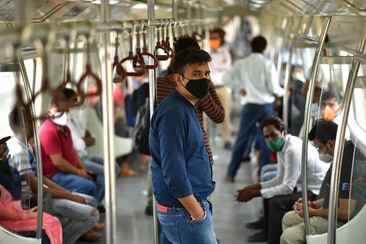 Variante india de coronavirus es un 50 por ciento mas transmisible que la britanica