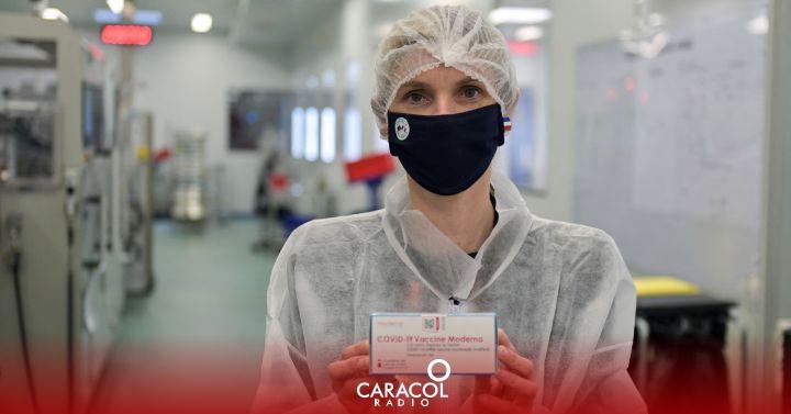 Invima autorizo el uso de la vacuna de Moderna en Colombia
