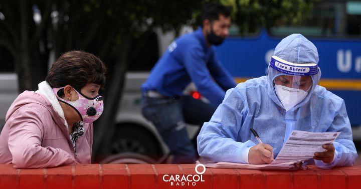 COVID-19 en Colombia: se reportaron 648 fallecidos y 28.478 casos nuevos