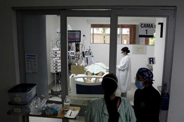 Colombia siente el golpe de una pandemia voraz