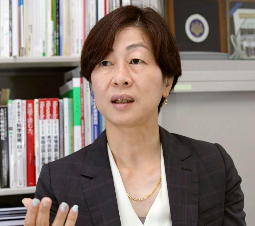 Kaori Yamaguchi, miembro ejecutivo del Comite Olimpico de Japon, dice que han