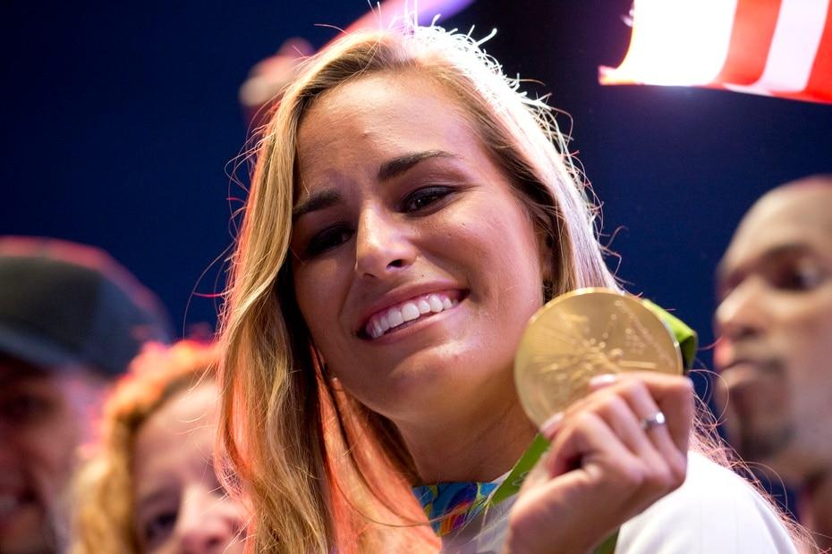 La tenista Monica Puig fue la primera atleta puertorriqueña en ganar oro olimpico por Puerto Rico en Rio 2016.