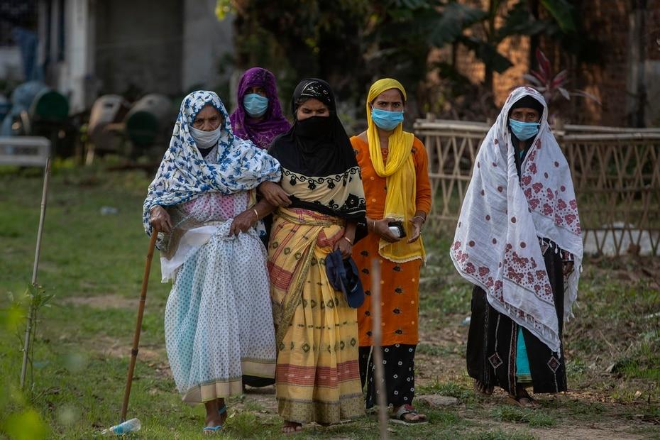 India enfrenta uno de los repuntes mas serios de COVID-19 en lo que va de pandemia.