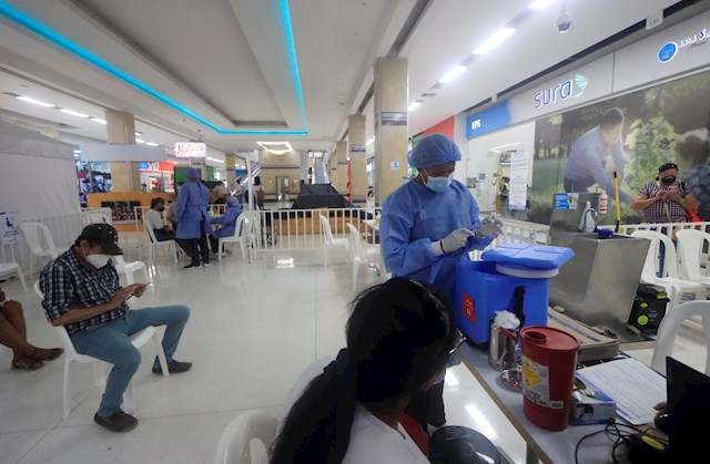 Colombia confirma record de 27.000 nuevos casos de coronavirus y 511 muertos