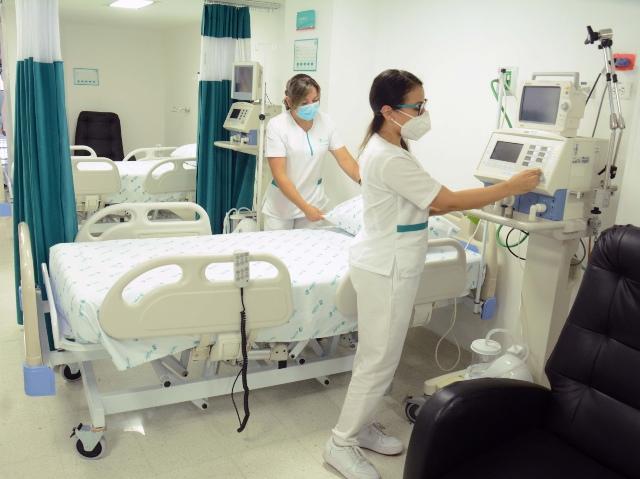La Clinica Ospedale se declara en emergencia funcional por ocupacion del 100 % en varias de sus areas medicas