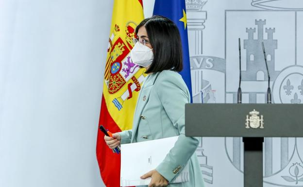 Sanidad mantiene el decreto de fin de mascarillas sin certeza sobre su aprobacion