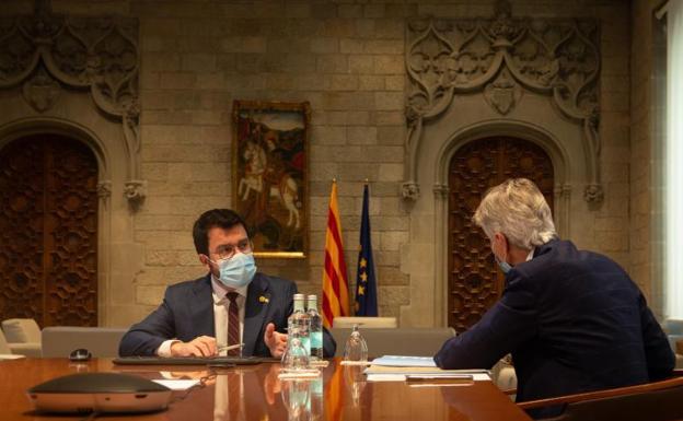 La Generalitat plantea un confinamiento nocturno minimo de tres semanas