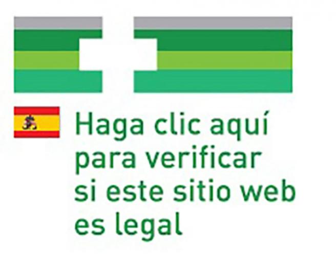 Logo comun europeo para las farmacias autorizadas.