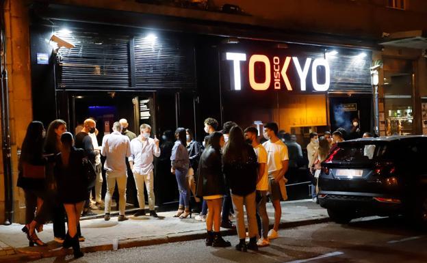 Un establecimiento de ocio nocturno en Vigo./EP