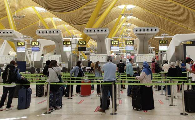 Aeropuesrto de Madrid-Barajas./E. P.