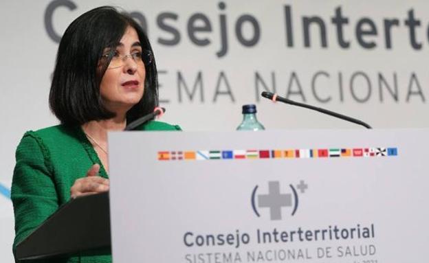 Carolina Darias, ministra de Sanidad. /Efe
