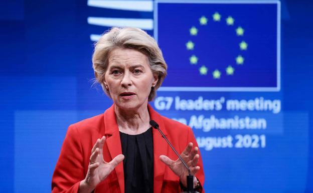 Ursula von der Leyen./AFP